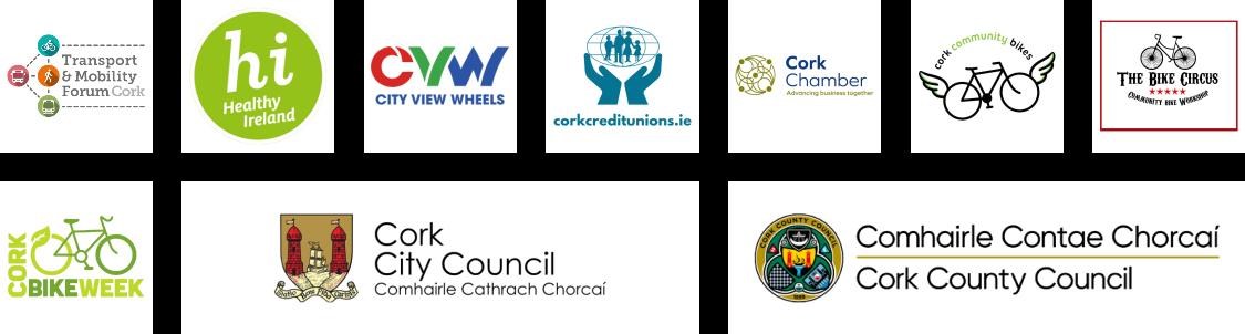 Logos of we-bike stakeholders.