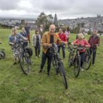we-bike stakeholders at Bell's Field